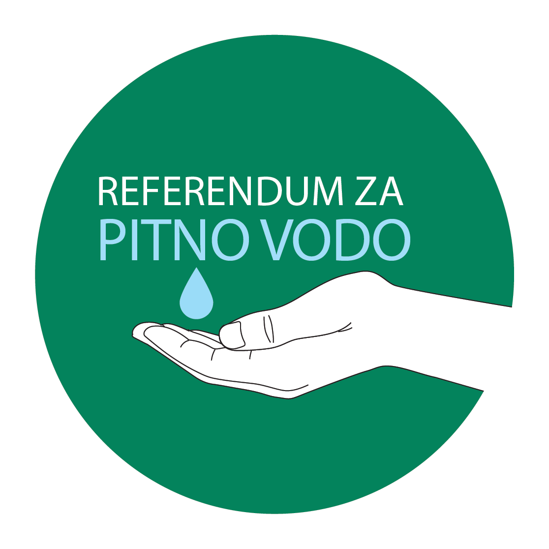 Referendum za pitno vodo logo